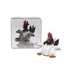 White Roffe Rooster from Naasgransgarden with Box