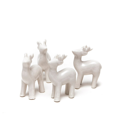 Shruti Ceramic Reindeer (Set of 4)