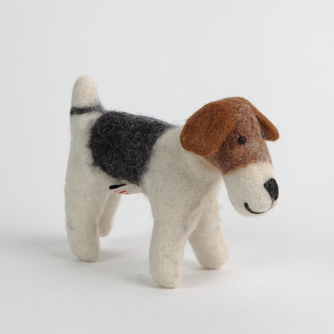 Bertie the Felt Beagle (Small) by Amica