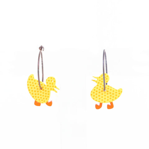 Lene Lundberg K-Form Duckling Earrings