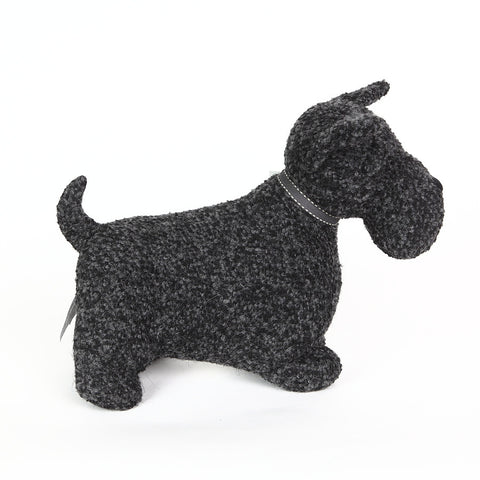 Mac the Scottie Doorstop from Dora Designs side view