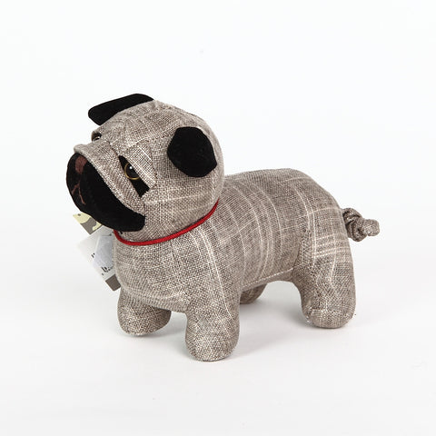 Bogart the Pug Doorstop from Dora Designs