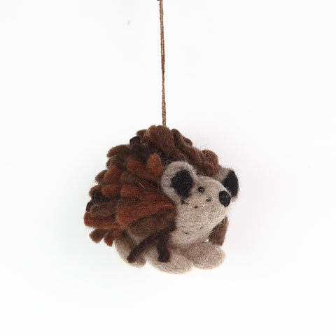 Cute Felt Hedgehog from Felt So Good