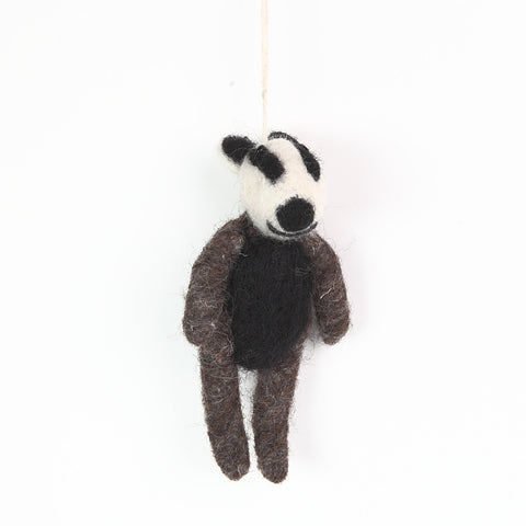 Handsome Felt Badger from Felt So Good