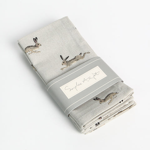 Sophie Allport Hare Napkins (Set of 4)