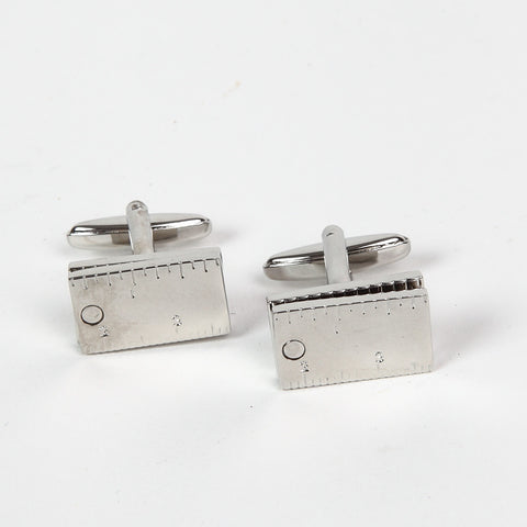 Set Square Cufflinks closed