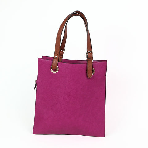 Purple Shopper Style Bag