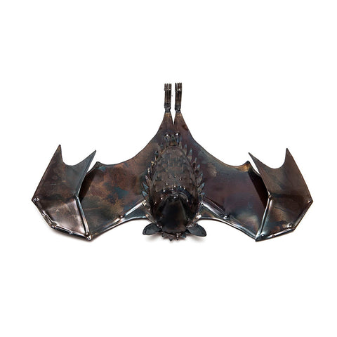 Small Metal Fruit Bat (Both Wings Open)