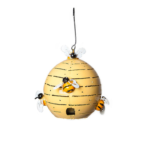 Metal Beehive Tea Light Holder