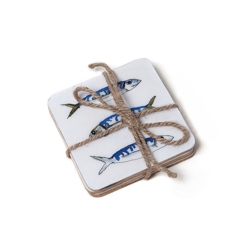 Shoeless Joe Mackerel Coasters