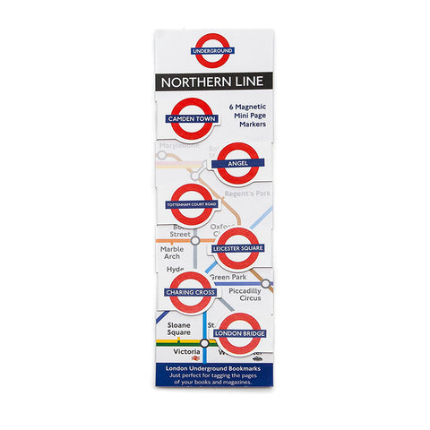 London Underground Northern Line Book Markers by If