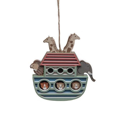 Gisela Graham Ark Hanging Decoration