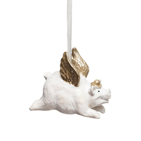 Naasgransgarden Flying Pig Hanging Decoration