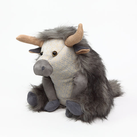 Posh Angus the Highland Cow Doorstop from Dora Designs