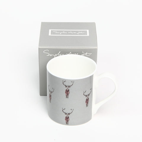 Sophie Allport Highland Stag Bone China Mug