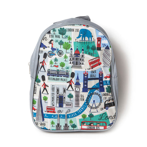 Gisela Graham Kids London Matt PVC Backpack