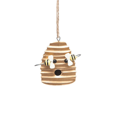 Shoeless Joe Tin Beehive Hanging Decoration