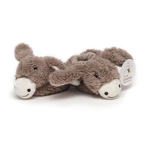 Jomanda Cream Baby Donkey Slippers