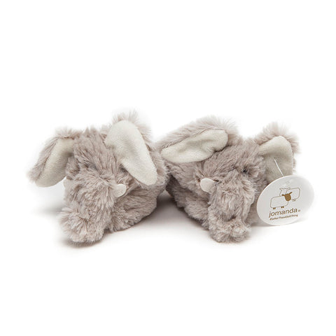 Jomanda Cream Baby Elephant Slippers
