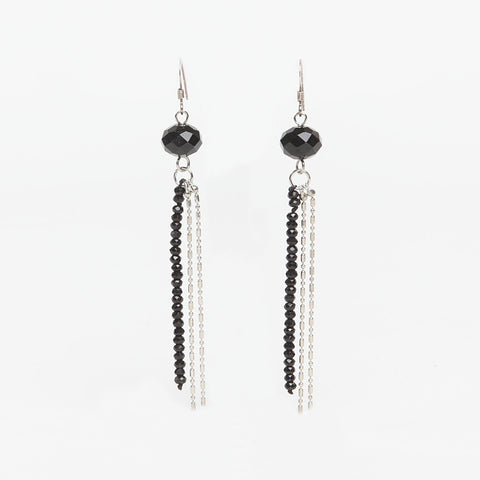 Ask Jewellery Cascading Bead Drop Earrings