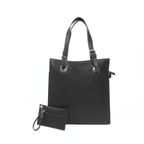 Black Shopper Style Bag