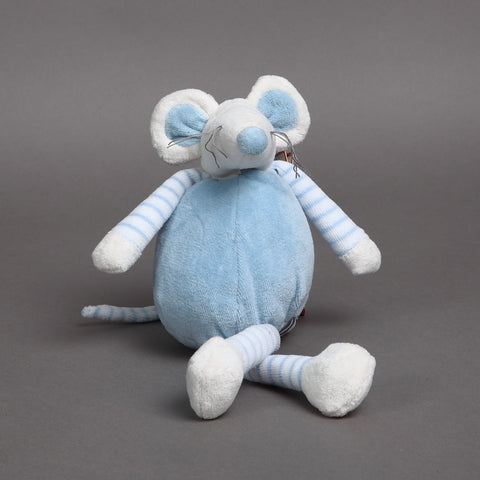 Mousehouse Blue Velour Mouse Kids Toy