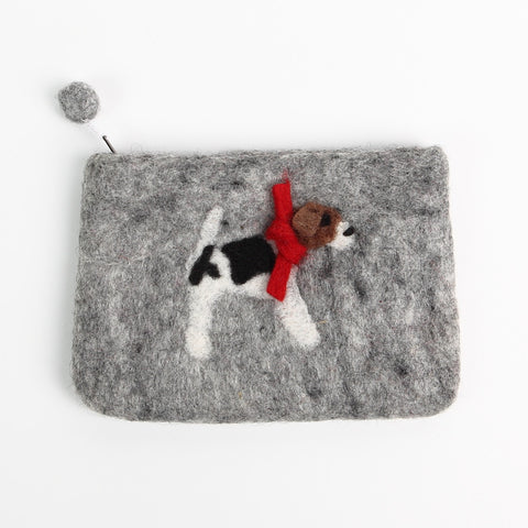 Gordon Felt Doggy Purse from Amica