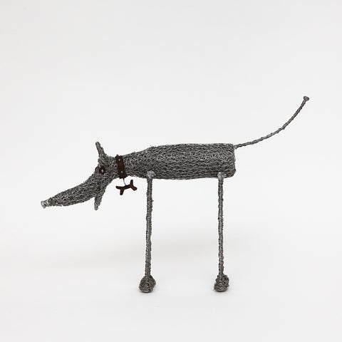 Sarah Jane Brown Knitted Wire (Large) Standing Dog
