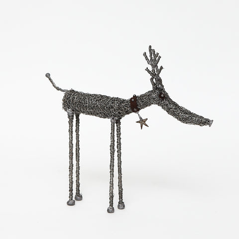 Sarah Jane Brown Knitted Wire Reindeer