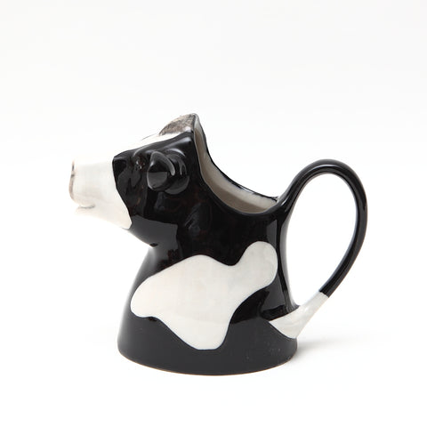 Quail Designs Friesian Ceramic Cow Jug