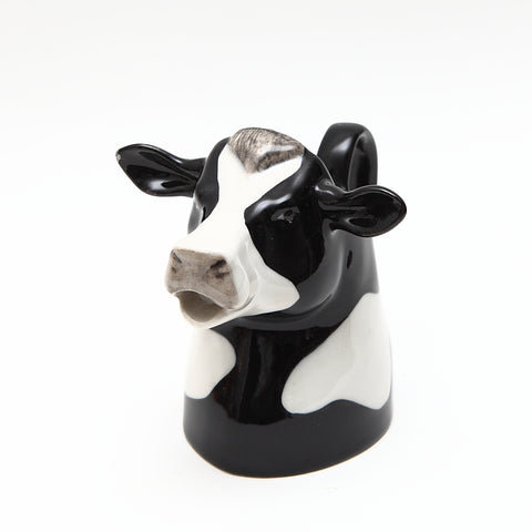 Quail Designs Friesian Cow Jug Small