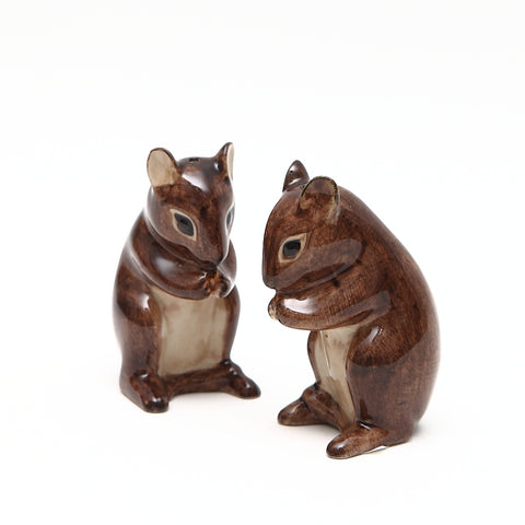 Quail Designs Mouse Salt and Pepper Set