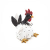 White Roffe Rooster from Naasgransgarden