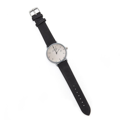 South Audley Gent's Watch with Metallic Grey Face