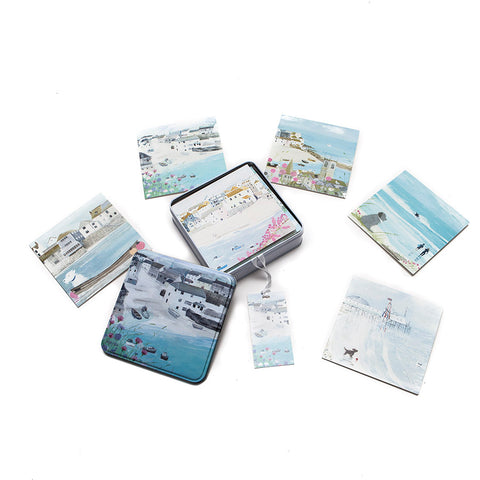 Whistlefish Tin of Coastal Cards