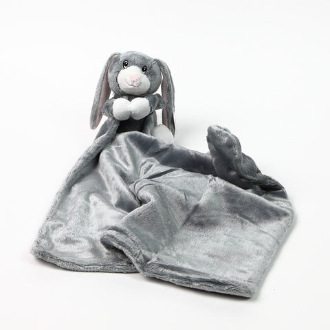 BoBo Buddies 'HipHop' Rabbit Blankie unfurled