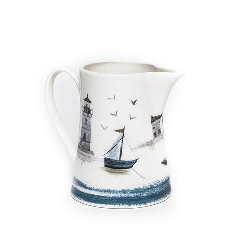 Gisela Graham Seaside Ceramic Jug