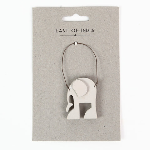 East of India 'Humphrey the Elephant' Little Animal Hanger