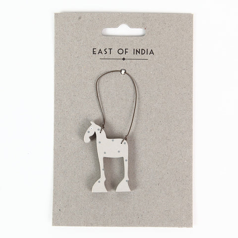 East of India 'Bessie the Horse' Little Animal Hanger
