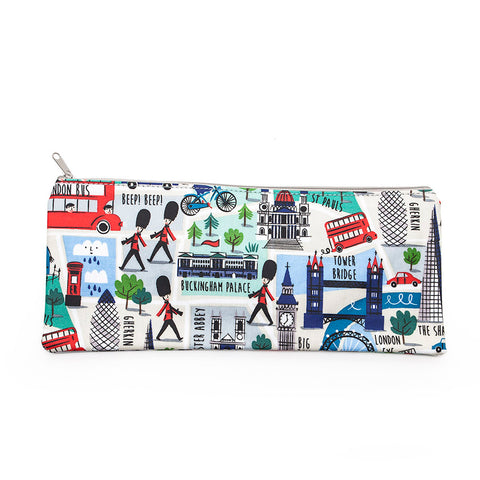 Gisela Graham London Design Oilcloth Pencil Case/Make Up Bag