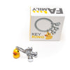 Oli Olsen Duck and Ducklings Key Ring/Bag Charm with presentation box