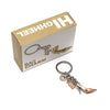 Gold High Heel Shoe Bag Charm/Keyring from Oli Olsen