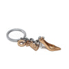 Gold Shoe Charm/Key Ring from Oli Olsen