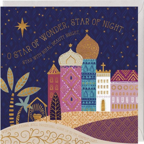 O Star of Wonder heartsdeco.com whistlefish Christmas Card