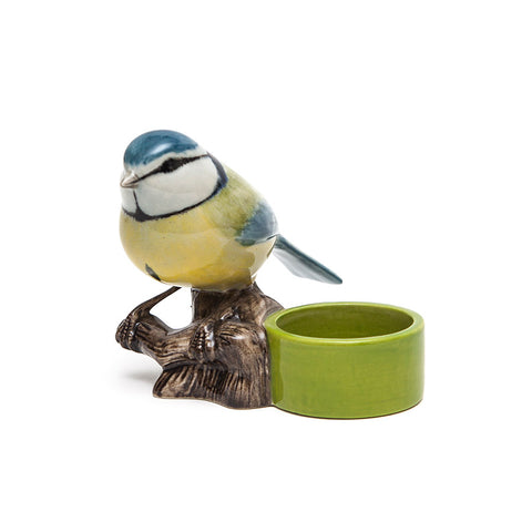 Quail Ceramics Blue Tit T Light Holder
