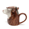 Quail Ceramics Hereford Bull Large Jug