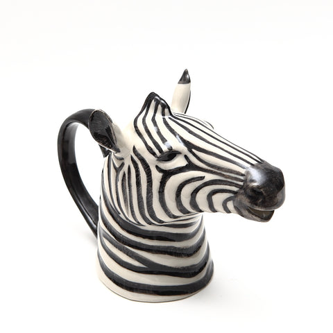 Quail Designs Small Zebra Jug