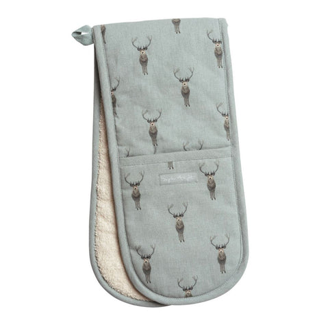 Sophie Allport Highland Stag Double Oven Gloves
