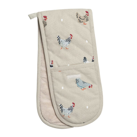 Sophie Allport Lay a Little Egg Hen Oven Gloves