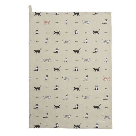Sophie Allport Purrfect Tea Towel